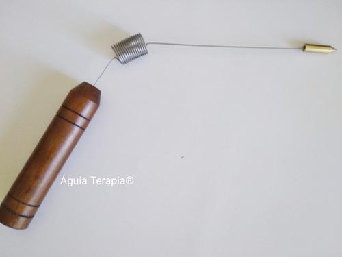 pendulo egipcio lastro + aurameter + dual rod radiestesia
