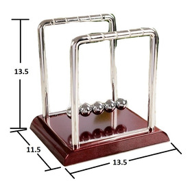 Pendulo Newton Mediano Decorativo Kinetico Oficina Mod.2-3