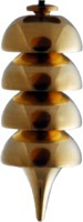 pendulo osiris de bronce