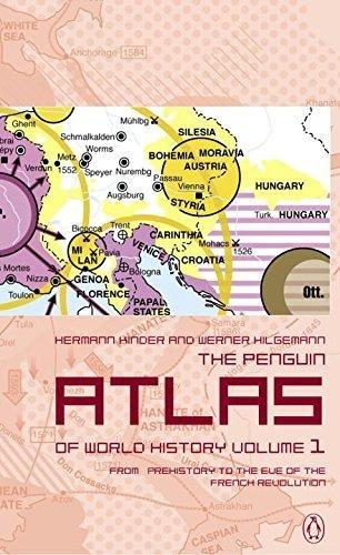 penguin atlas of world history 1 de kinder & hilgeman