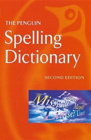 penguin spelling dictionary 2nd ed de penguin books