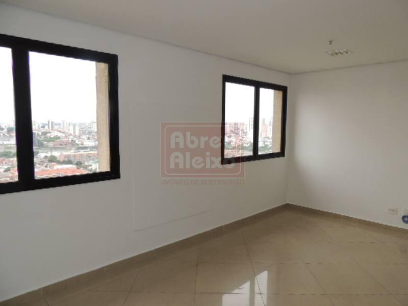 penha - sala comercial com 32 m², com 2 banheiros, ponto para copa + 1 vaga de garagem - 43