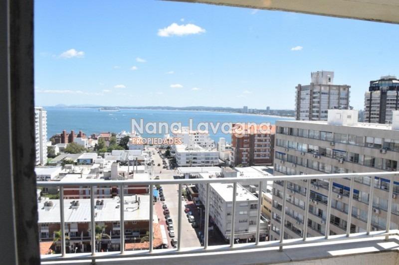 península piso alto con hermosa vista brava y mansa-ref:214732