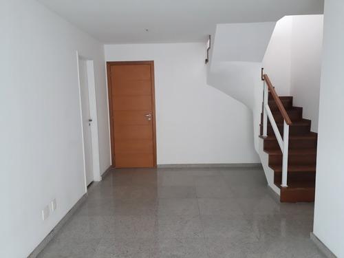 peninsula style - cobertura duplex de 4 quartos com 197,03m2