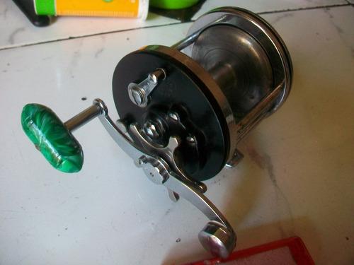 penn 99 - para embarcado carretel metal impecable - permuto