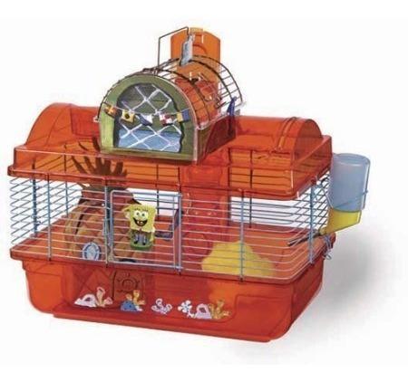 penn plax bob esponja casa para hamsters