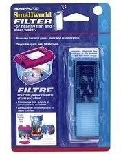 penn plax filtro agua para peceras de hasta 20 litros x 2 un