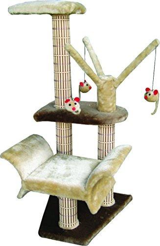penn plax torre árbol de gato salón y percha de ropa con col
