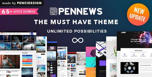 Pennews V5 0 - News Magazine Business Portfolio