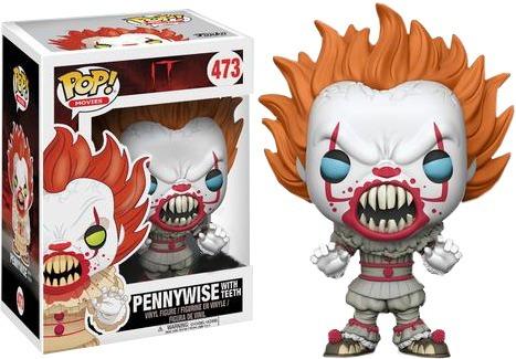Pennywise With Teeth Eso It El Payaso Asesino Funko Pop