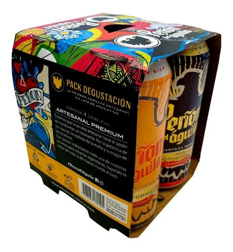 peñón del aguila - four pack x473 ml - estilos clásicos