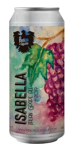 peñón del aguila isabella italian grape- lata 473 ml