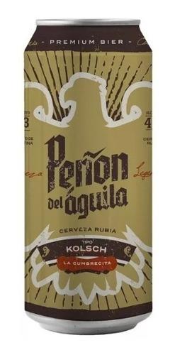 peñón del aguila kolsch six pack - lata x473 ml