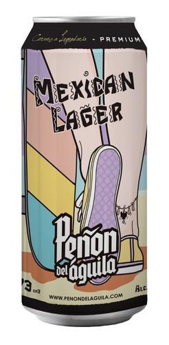 peñón del aguila - mexican lager - lata 473 ml