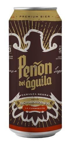 peñón del aguila schwarzbier - lata 473 ml