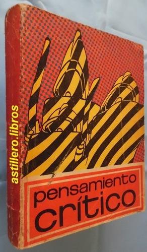 pensamiento crítico- publicación cubana- febrero- marzo 1969