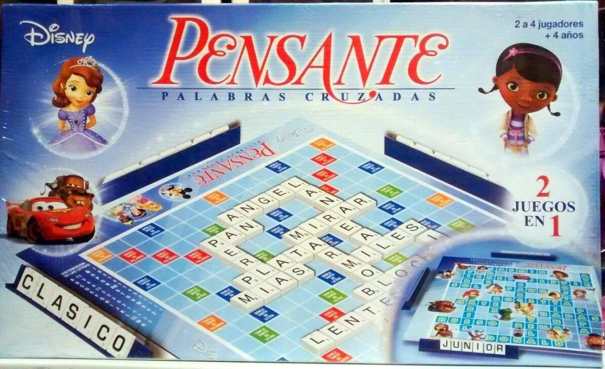 Pensante Juego De Mesa Ninos Marca Toyco Scrabble 319 90 En