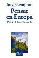 pensar en europa(libro ciencias políticas)