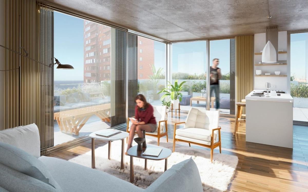 pent-house de 2 dormitorios con amplia terraza.