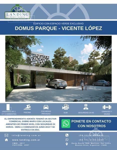 pent house en domus parque - vicente lópez