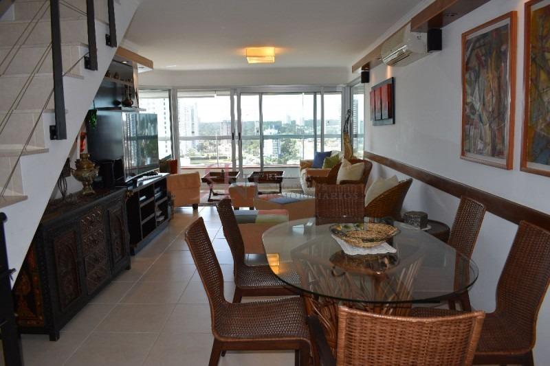 pent house en playa mansa con vista y parrillero- ref: 9675