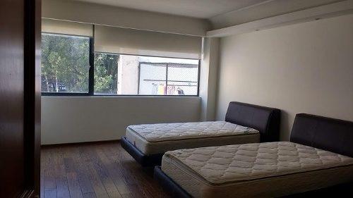 pent house en renta cerca de parque lincoln de 340 m2