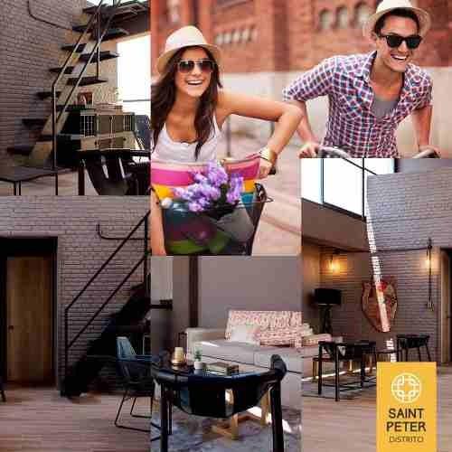 pent house neoyorquino|nuevo cholula |roof garden, jacuzzi