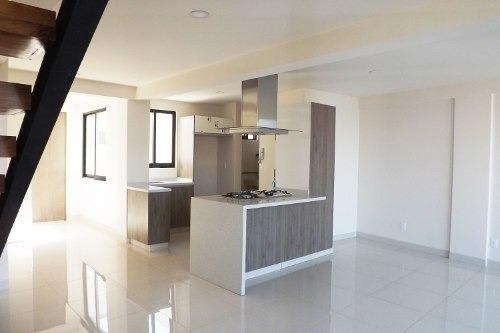pent house nuevo en venta vertiz narvarte