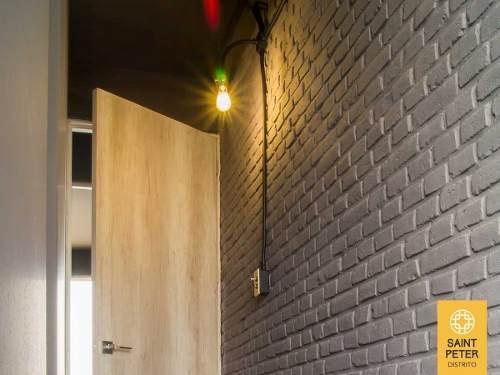 pent house nuevo tipo loft neoyorquino en cholula