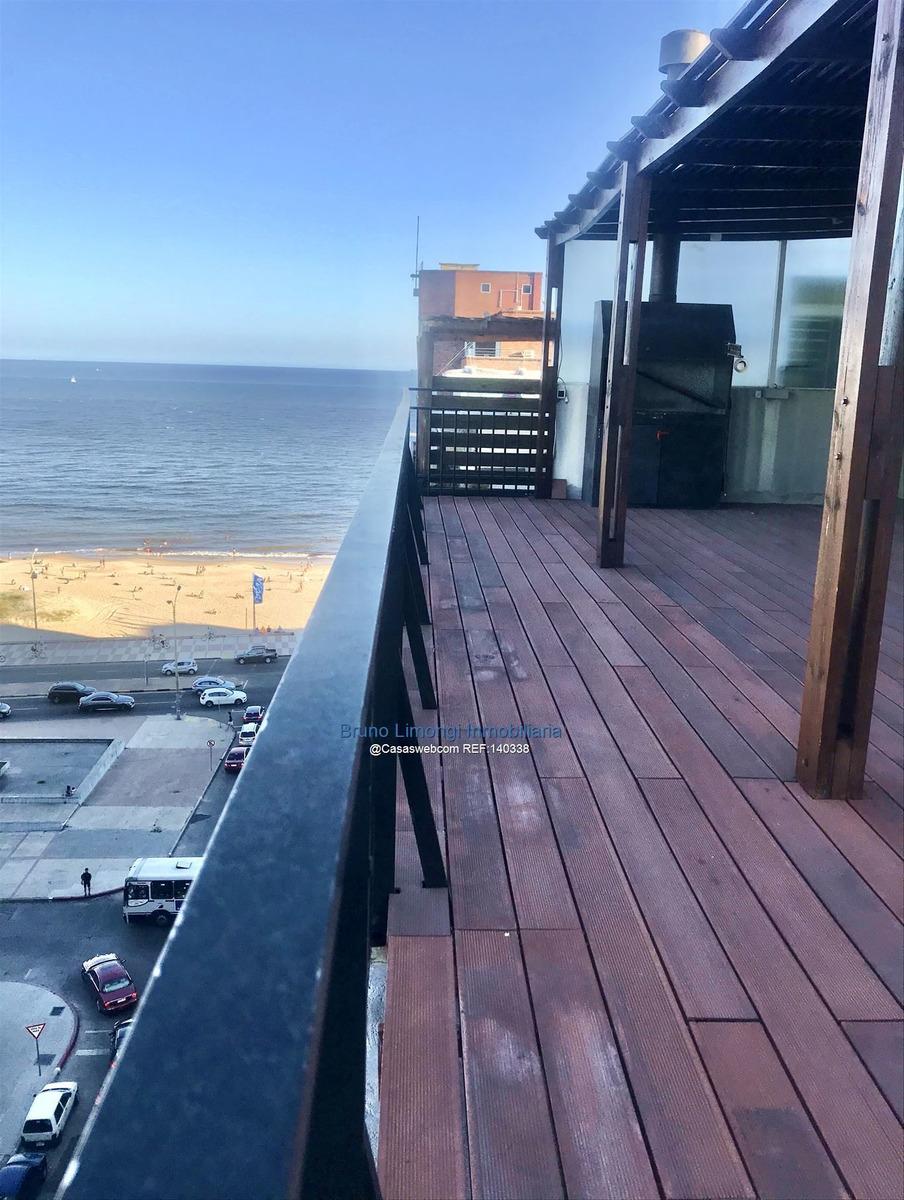 pent house único vista al mar