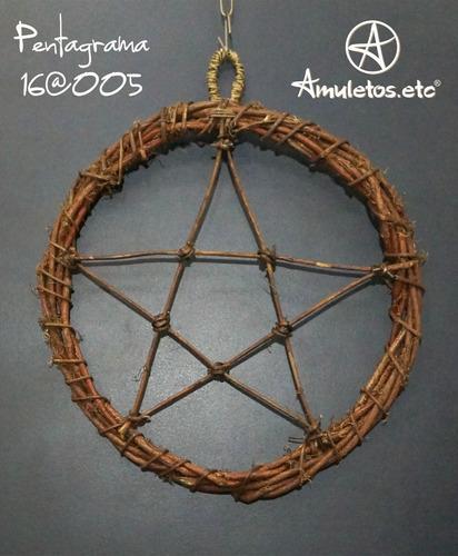 pentagrama em cipó wicca 16@005