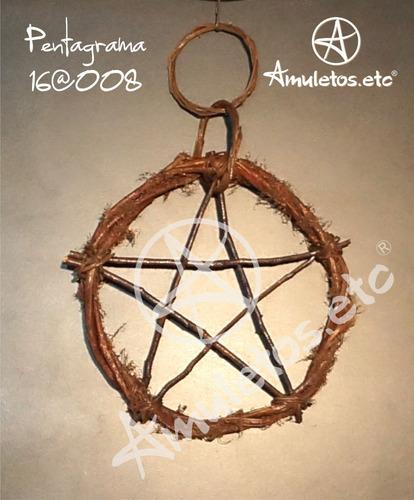 pentagrama em cipó wicca 16@008
