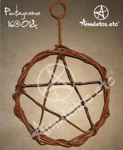 pentagrama em cipó wicca 16@01&