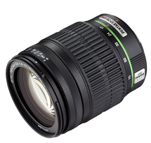 pentax 17-70mm f / 4 da lente smc al if sdm para pentax cám