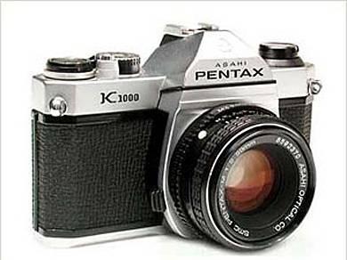 pentax k1000 cámara análoga 35mm. slr 24×36 mm.