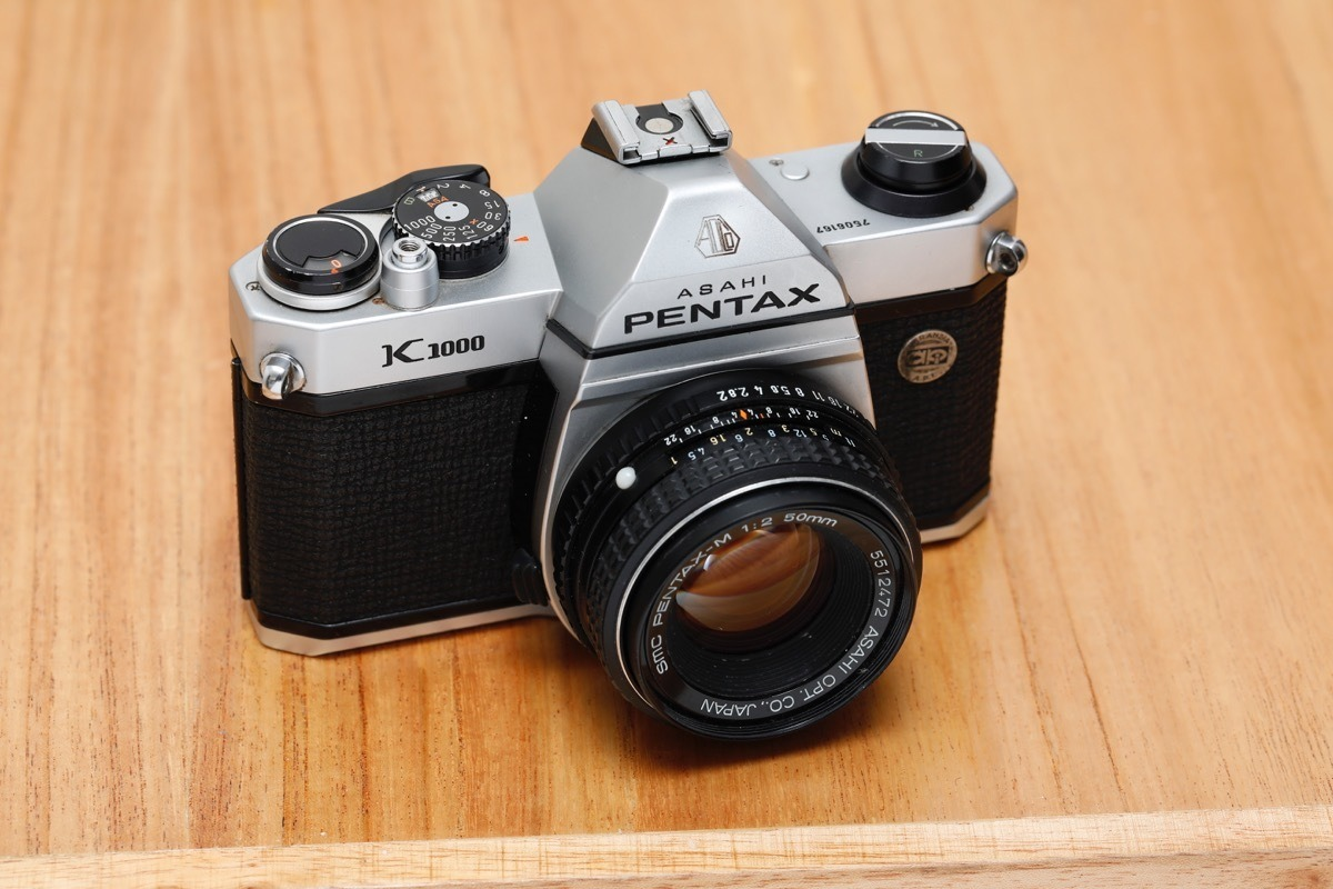 Pentax K1000 Japan Asahi Con Lente Smc 50mm F2 - $ 19.500,00 en ...