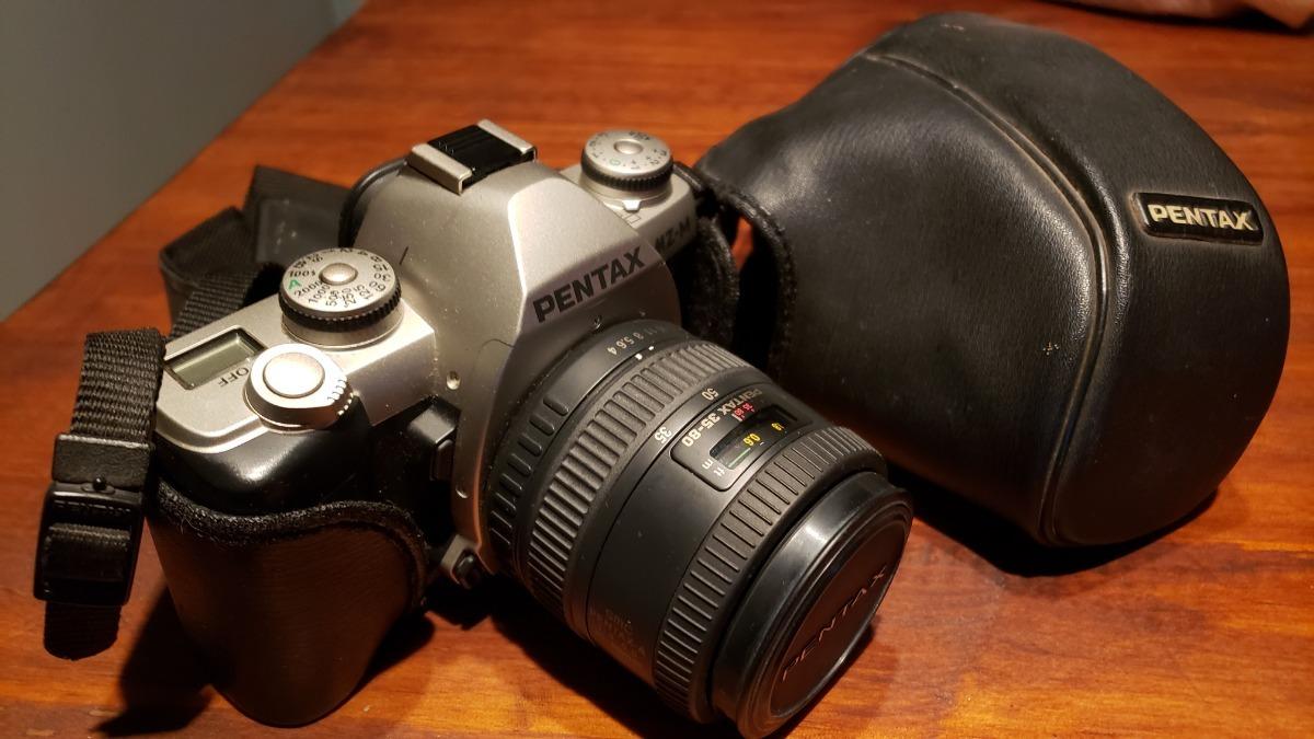 2dfe1323427c Pentax Mz-m Analógica 35mm - Cámara Reflex - $ 3.000,00