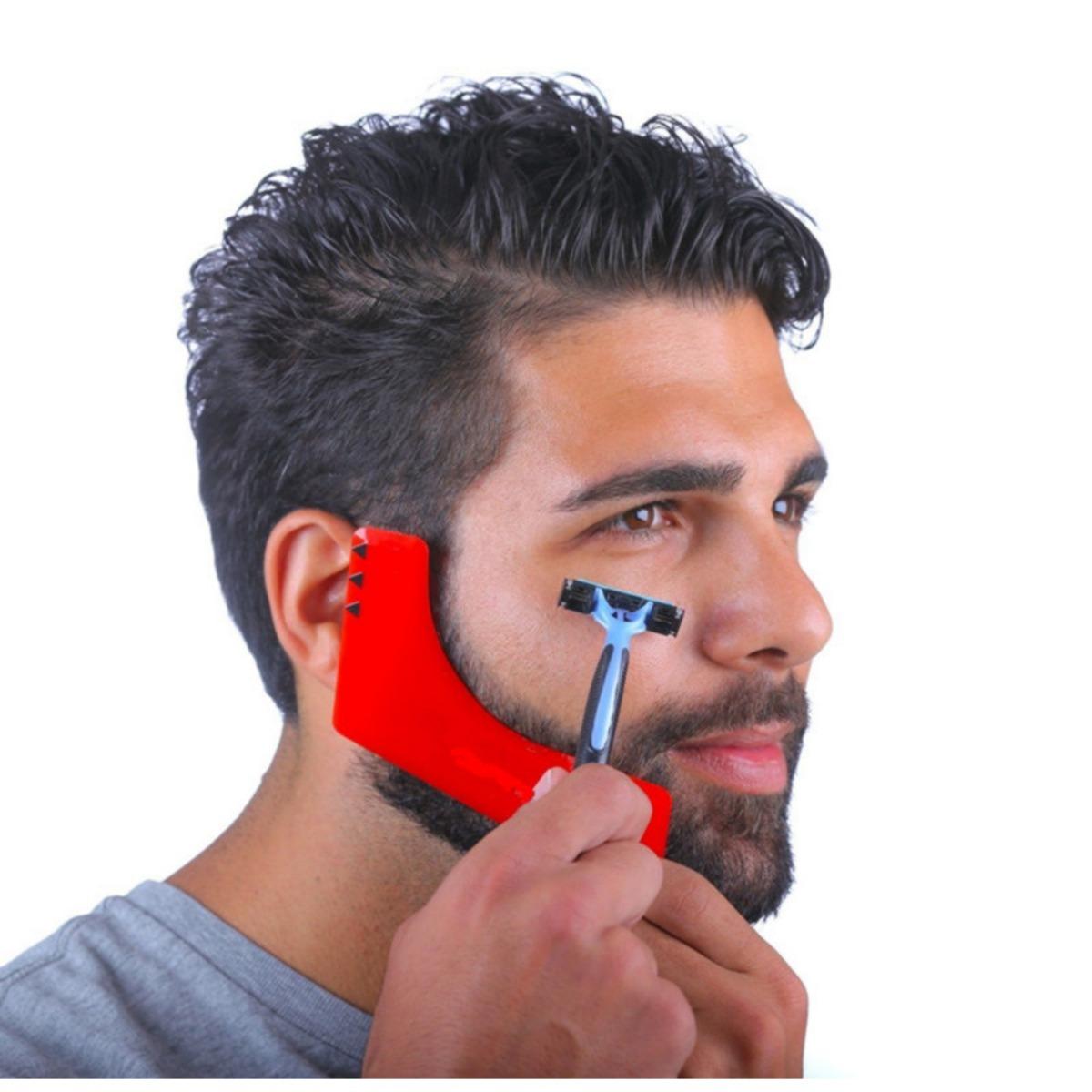 Pente Barba Barbear Alinhador Barbeiro Desenhar Barba R 35 90