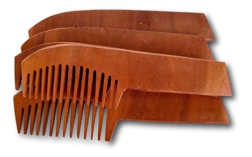 pente de madeira nacional ref: 9279 - 5 unidades