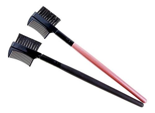 pente escova para alongamento de cílios e sobrancelhas