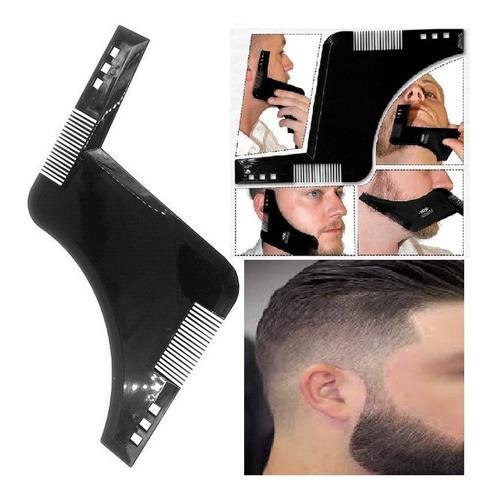 pente para barba régua alinhador modelador