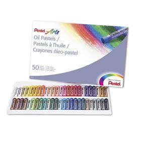 Pentel Arts Pasteles Al Óleo, 50 Color Set (phn-50)