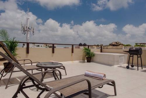 penthouse 1 recámara centro playa del carmen p2796