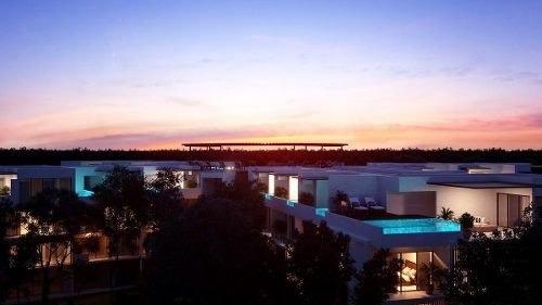 penthouse 2 recámaras en venta tulum panoramic