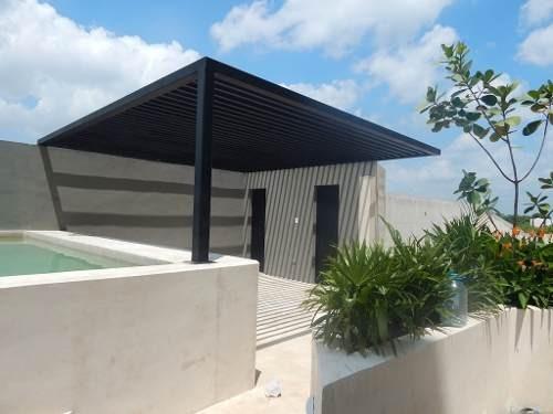 penthouse amueblado en venta, montebello mérida phv-4476