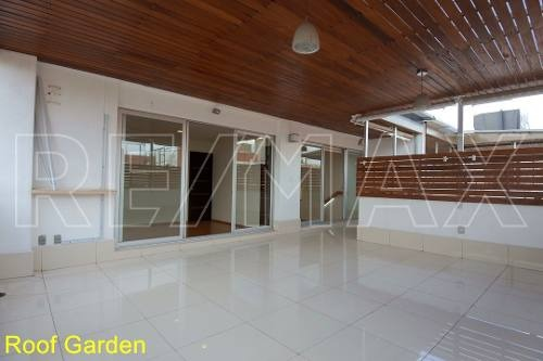 penthouse con 50 m2 de roof garden privado