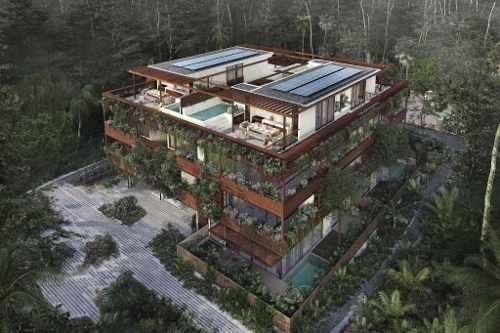 penthouse con increíbles vistas a la selva tulum p2724
