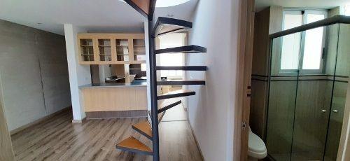 penthouse con roof garden en venta , col. alfonso xiii
