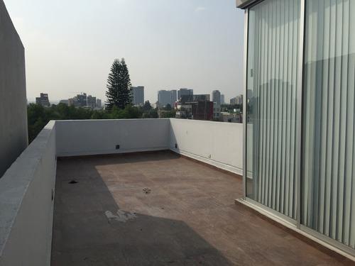 penthouse con roof garden privado