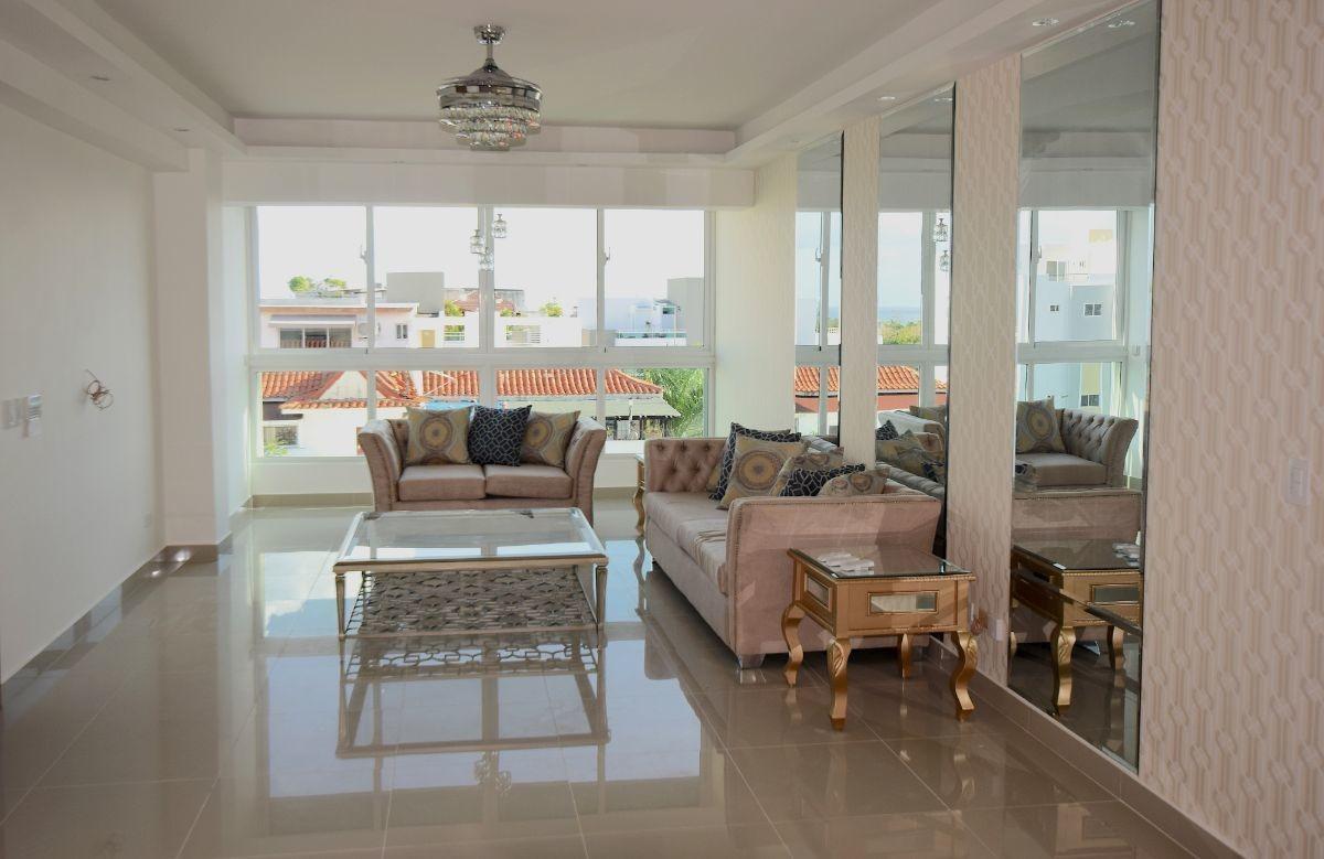 penthouse con vista la mar en alquiler, mirador sur